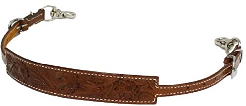 Shiloh Showman Wide Floral Tooled Wither Strap