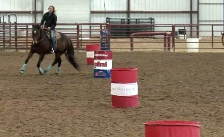 training Horse to Barrel Racing