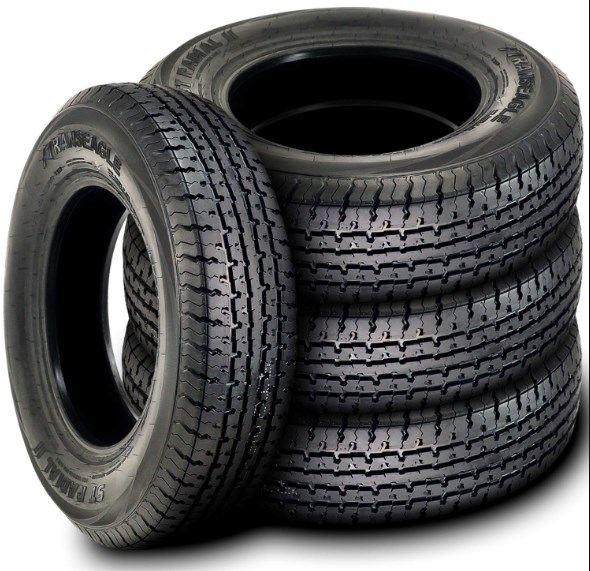 Carlisle Radial Trail HD Trailer Tires -ST205-75R15 107M